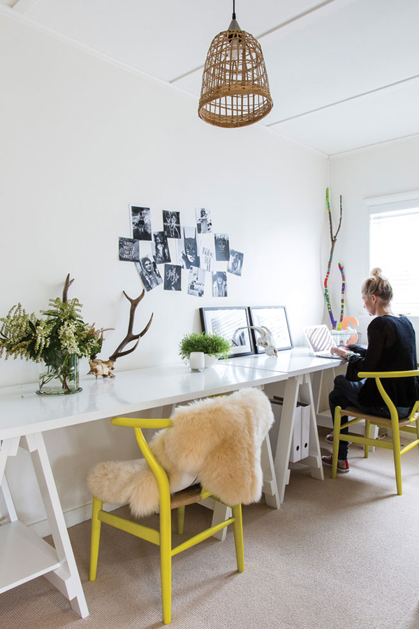 Rustic Office Space Homestyle