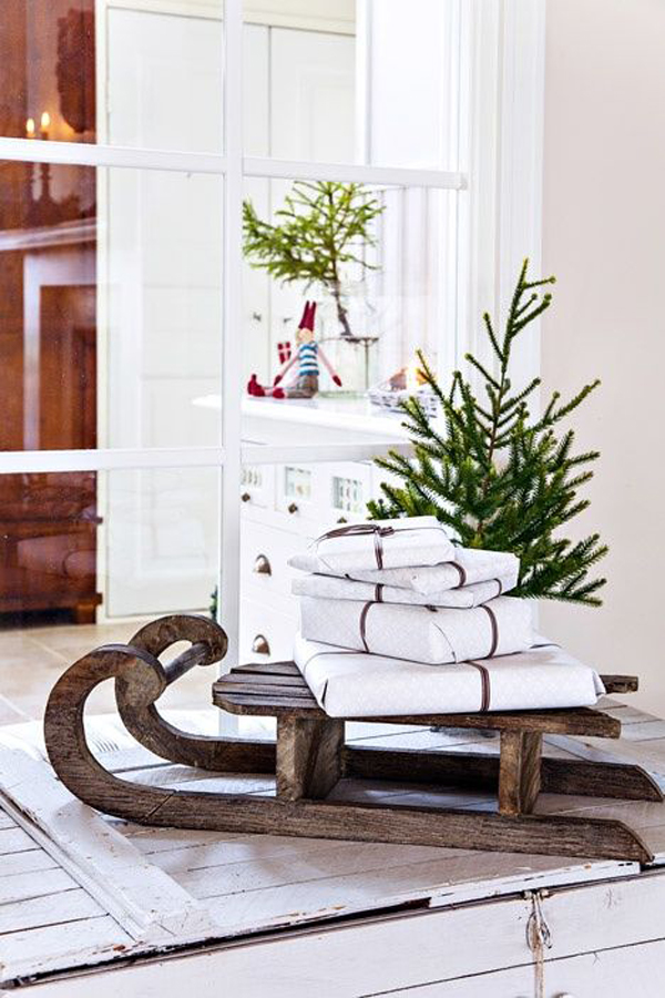 Http Homemydesign Com 2013 30 Beautiful Scandinavian Christmas Decorations Scandinavian Christmas Decor Ideas
