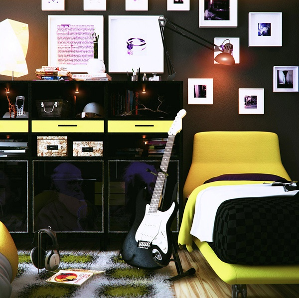 Teenage music room ideas for Room decorating ideas music