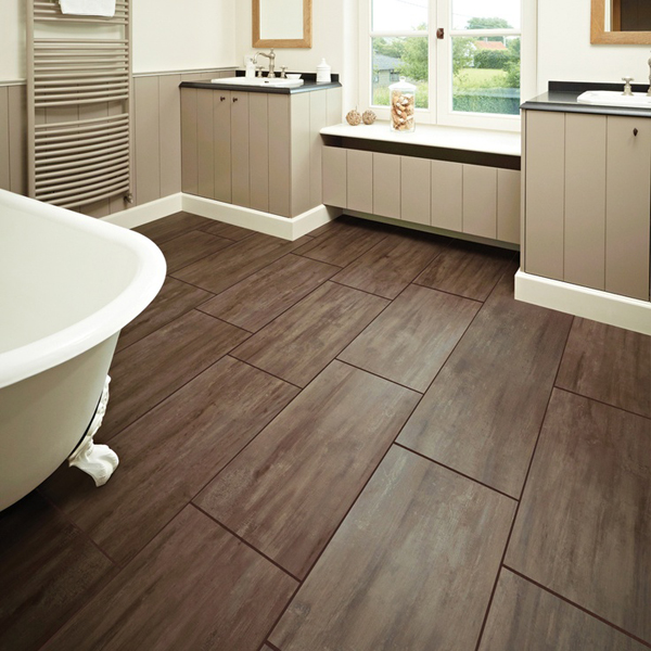 10 Wood Bathroom Floor Ideas