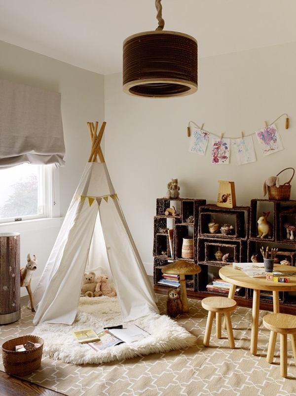 Vintage kids playroom ideas Vintage childrens room decor
