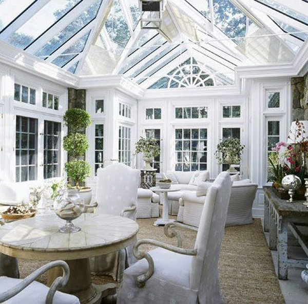 25 stunning white sunroom ideas home design and interior Solarium design