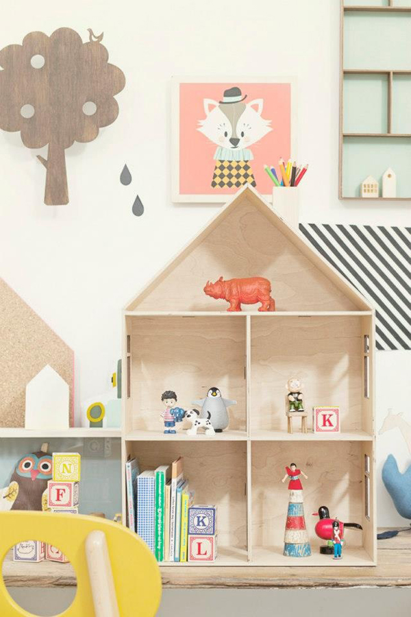 Wood Playroom Furniture