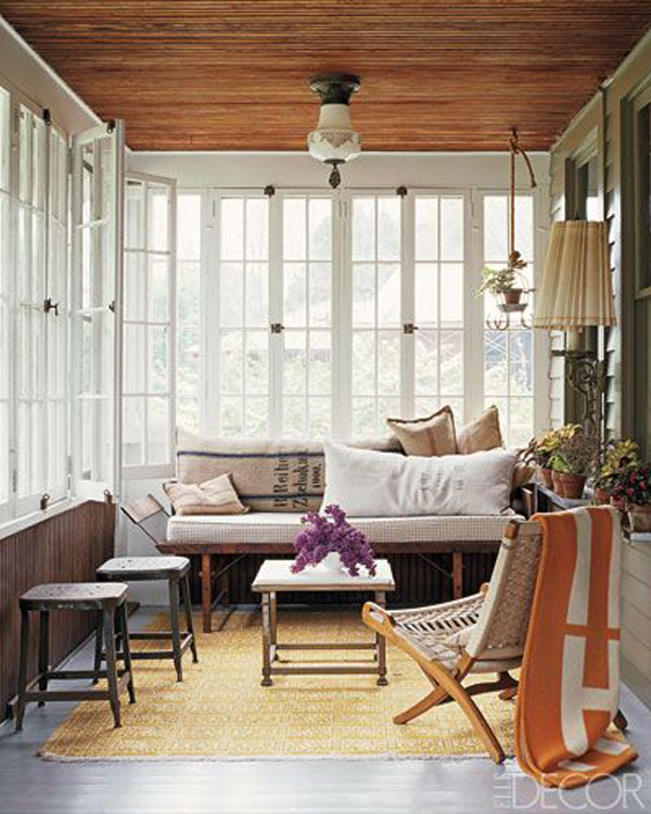 15 Deck Lighting Ideas For Every Season: 25 Stunning White Sunroom Ideas