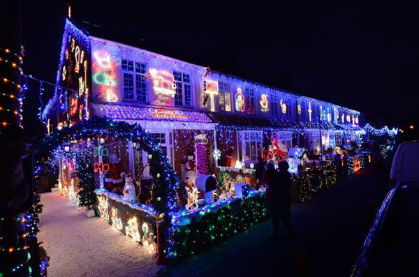 Most Beautiful Christmas Lighting In The World Home