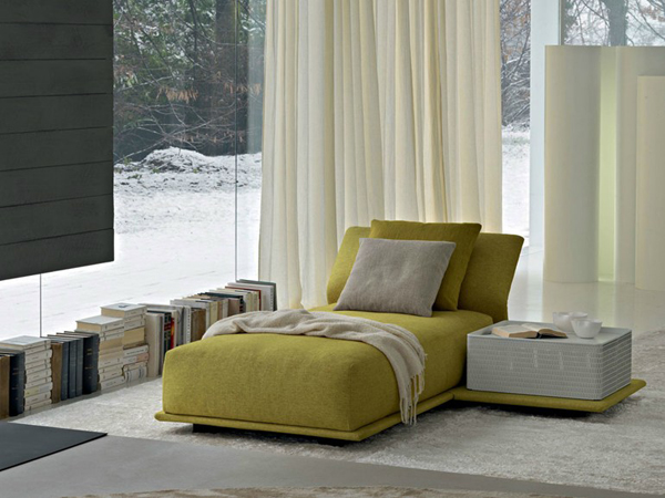 chartreuse chaise life living room