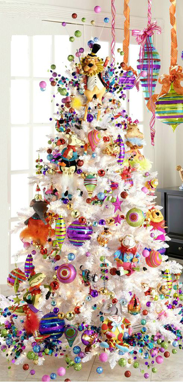 Kids christmas tree ideas for Xmas tree decoration ideas