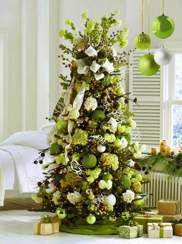 22 wonderful christmas tree ideas home design and interior Natural decorating