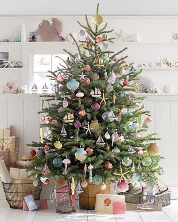 Small christmas tree ideas for Small designer christmas trees