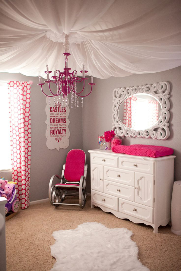 10 wonderful girl rooms home design and interior - Girls bed room ...