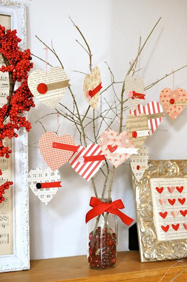 Valentine day ideas for Valentine day decorations for home