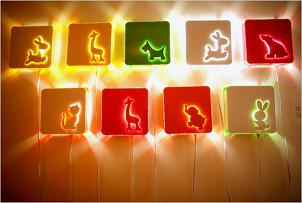 Animal kids lamps for Kids room night light