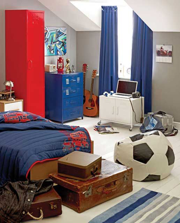 Boys Bedroom Decor: 15 Awesome Kids Soccer Bedrooms