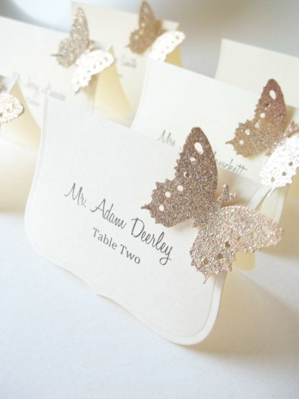 Butterfly wedding table ideas for Butterfly wedding