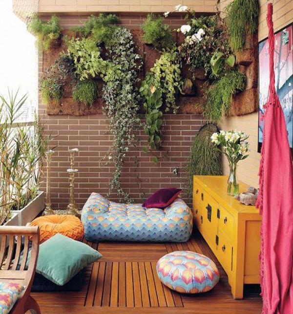 Home Garden In Balcony 26
