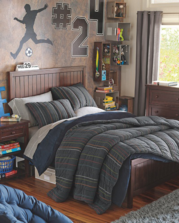 15 Awesome Kids Soccer Bedrooms