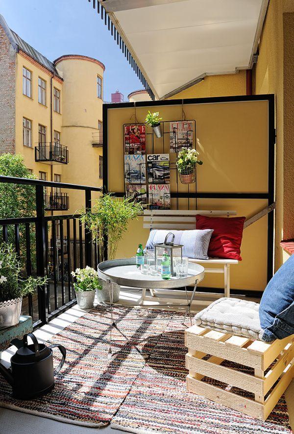 Cozy Balcony Decorating Ideas: Cozy-balcony-gardens