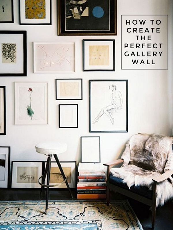 Interior Pictures On The Wall Ideas cute gallery wall ideas