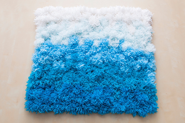 3 In 1 DIY Pom Ideas Rug Wall Hanging And Table
