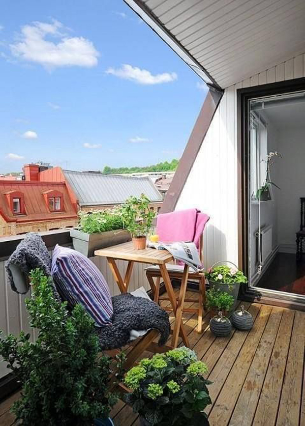 Small Apartment Balcony Garden Ideas: Flower-balcony