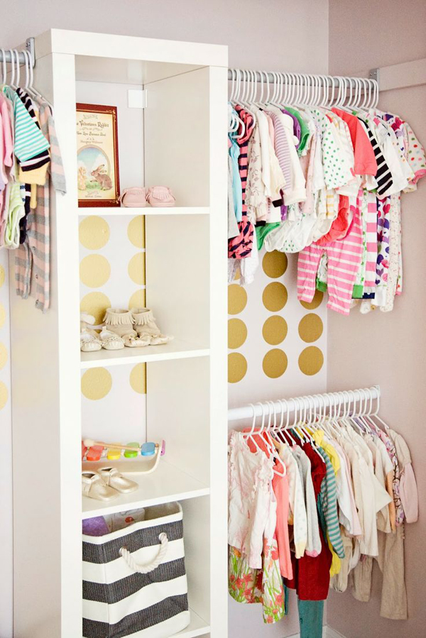 Gallery Of 35 Practical Kids Closet Ideas