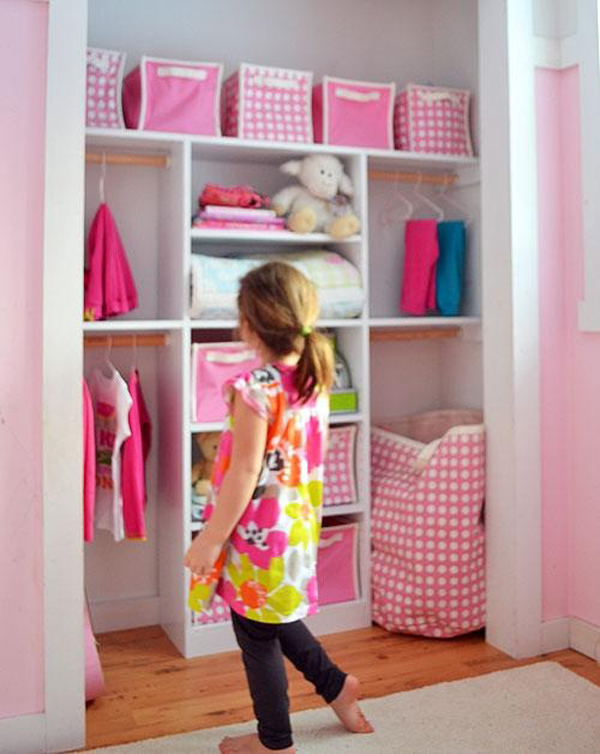 closet ideas nursery kids