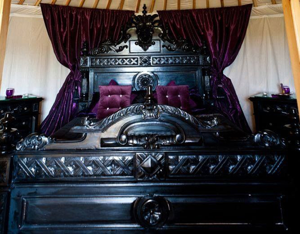 Thirteen Gothic Bedrooms | Home Design And Interior