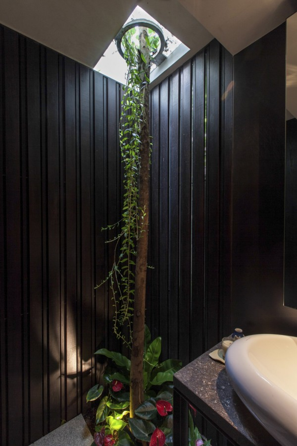 Nature house design in singapore home design and interior - Tree house bathroom ...
