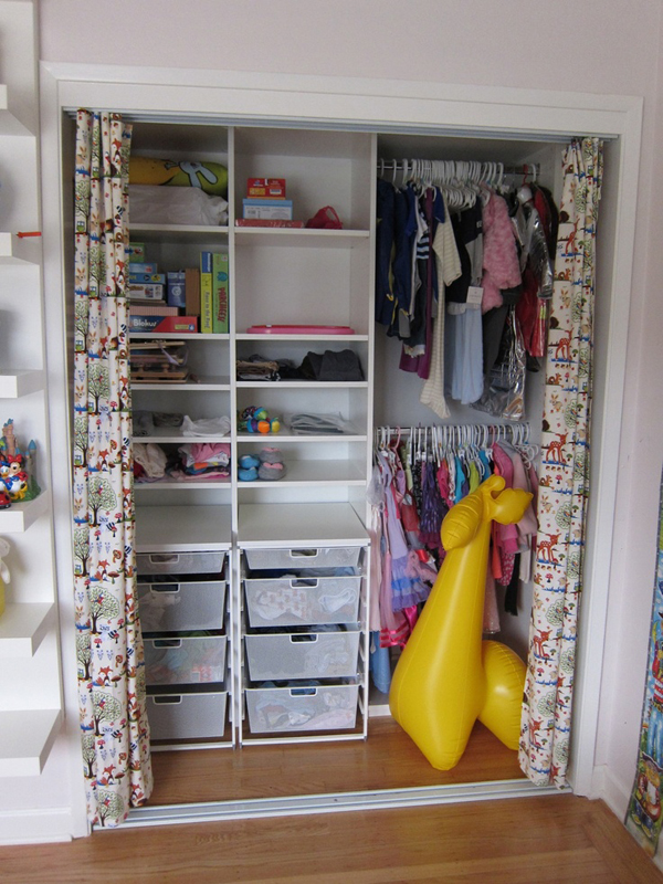 perfect walk mess kids for a in d closet ideas