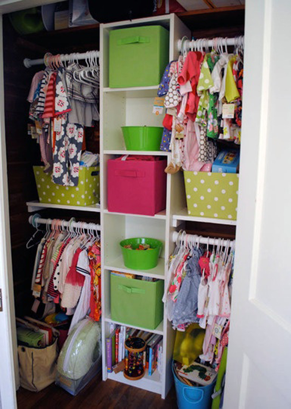 Kids Closet Storage Systems