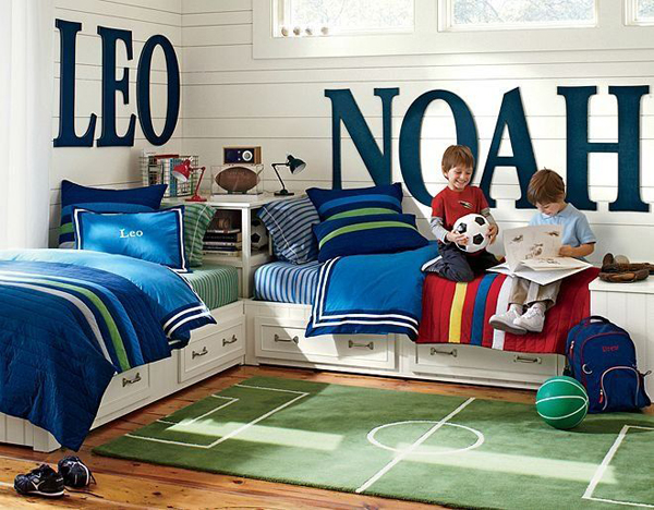 gallery of 15 awesome kids soccer bedrooms