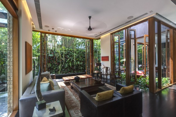 Gallery of nature house design in singapore