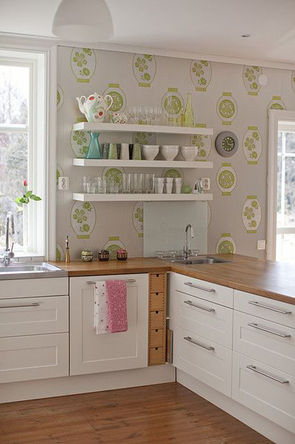gallery of 17 inspire wallpaper in the kitchen