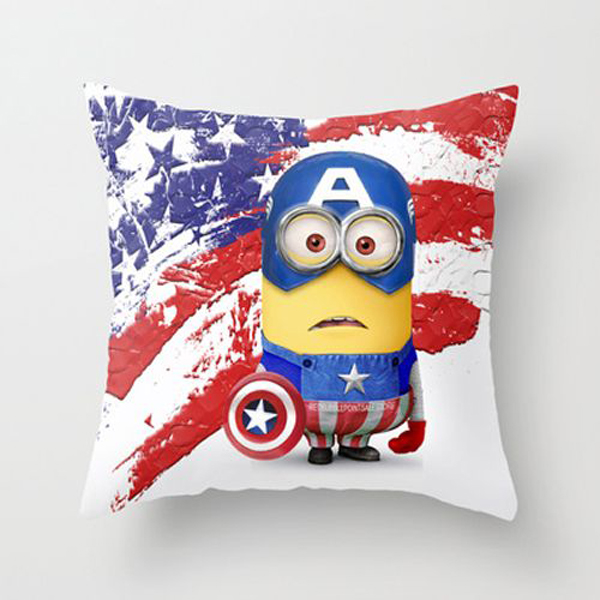 minion captain america pillow Kids Bedroom Ideas With Minion Theme