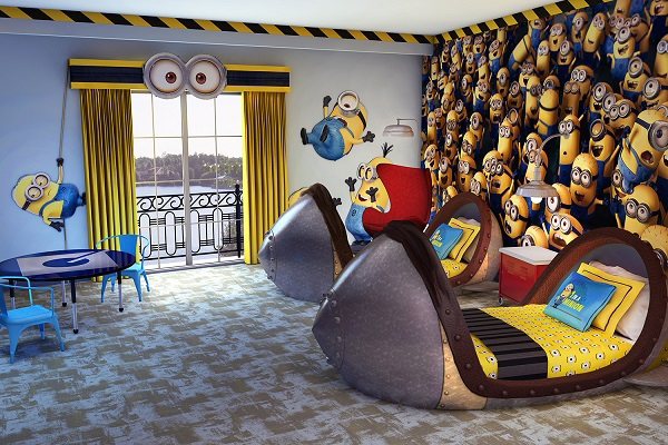 minion despicable me bedroom design Kids Bedroom Ideas With Minion Theme