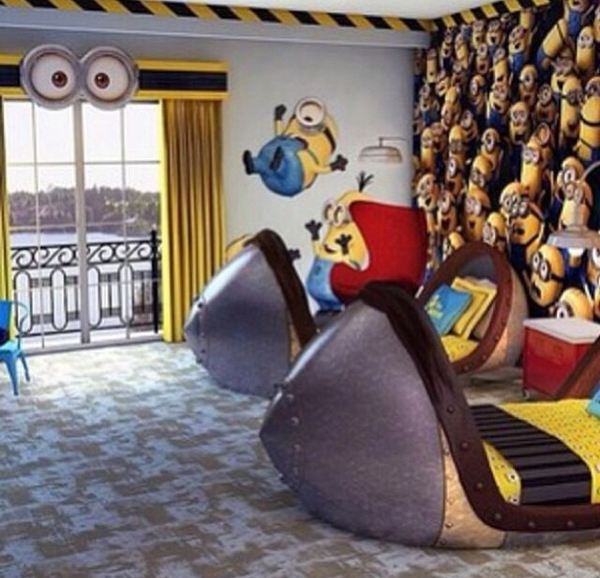 minion kid bedroom ideas Kids Bedroom Ideas With Minion Theme