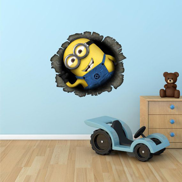 minion kids bedroom wallpaper Kids Bedroom Ideas With Minion Theme