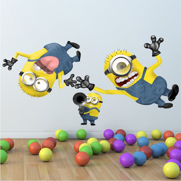 minion kids playroom ideas Kids Bedroom Ideas With Minion Theme