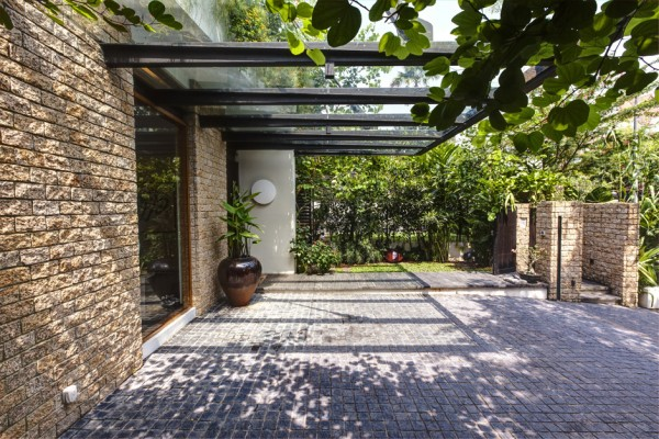 Magnificent Modern House Patio Design 600 x 400 · 116 kB · jpeg