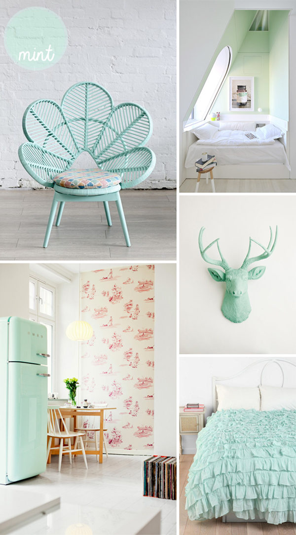 gallery of pastel room colors