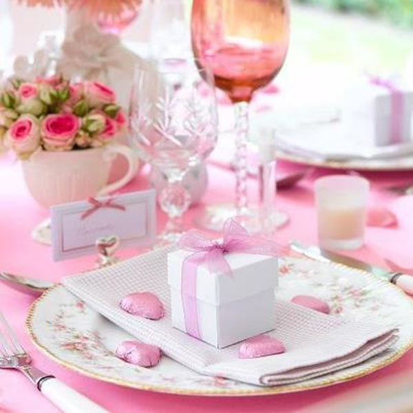 Pink Valentine Day Decorations