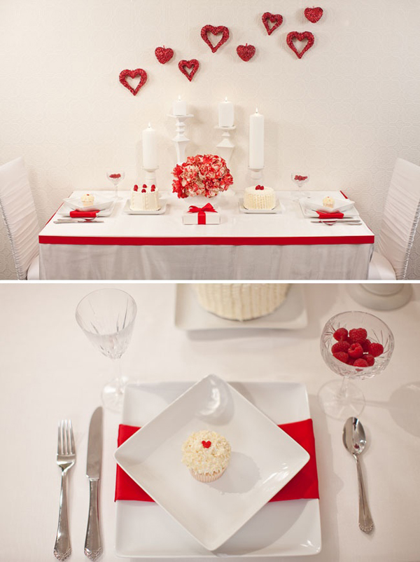 15 Best Valentine\'s Day Table Settings | Home Design And Interior