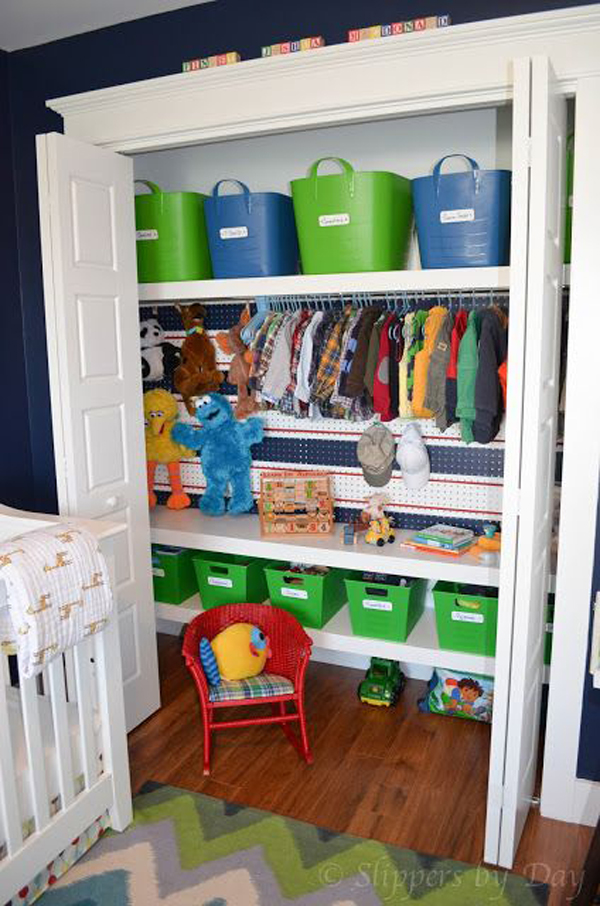 Small Kids Closet Designs