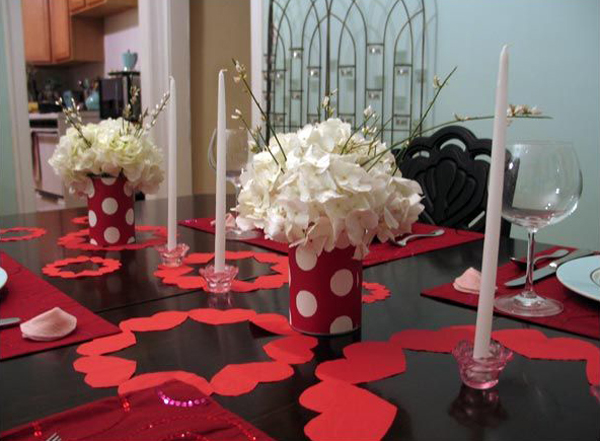 25 Romantic Valentine's Day Table Setting Ideas   Home ...