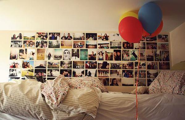 Bedroom Photo Wall Ideas