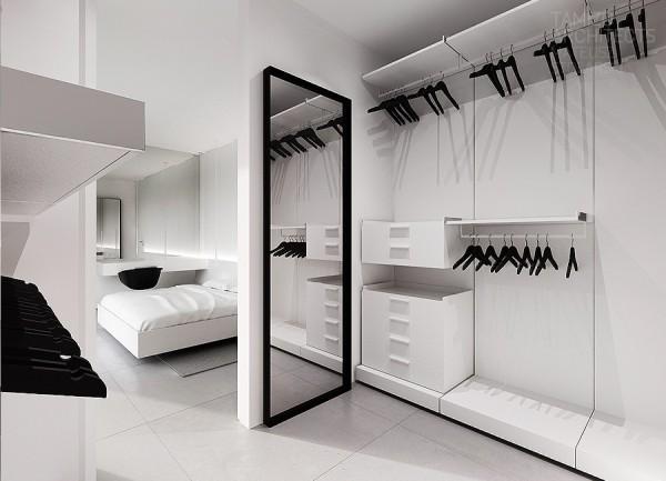 White Walk In Closet Ideas Homemydesign