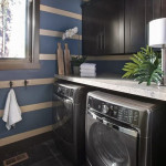 black-laundry-room-with-plants