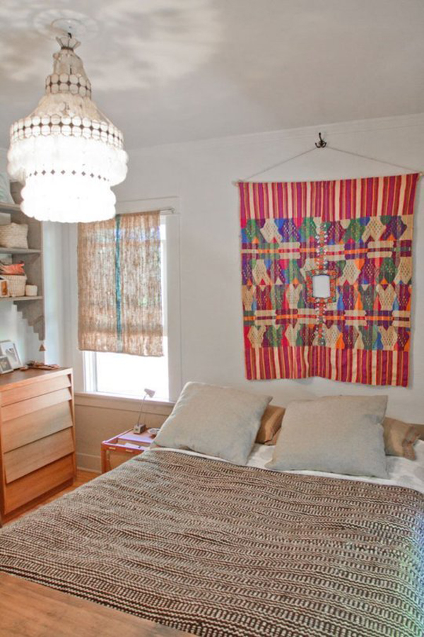 blanket-art-wall-hanging-bedrooms   Home Design And Interior