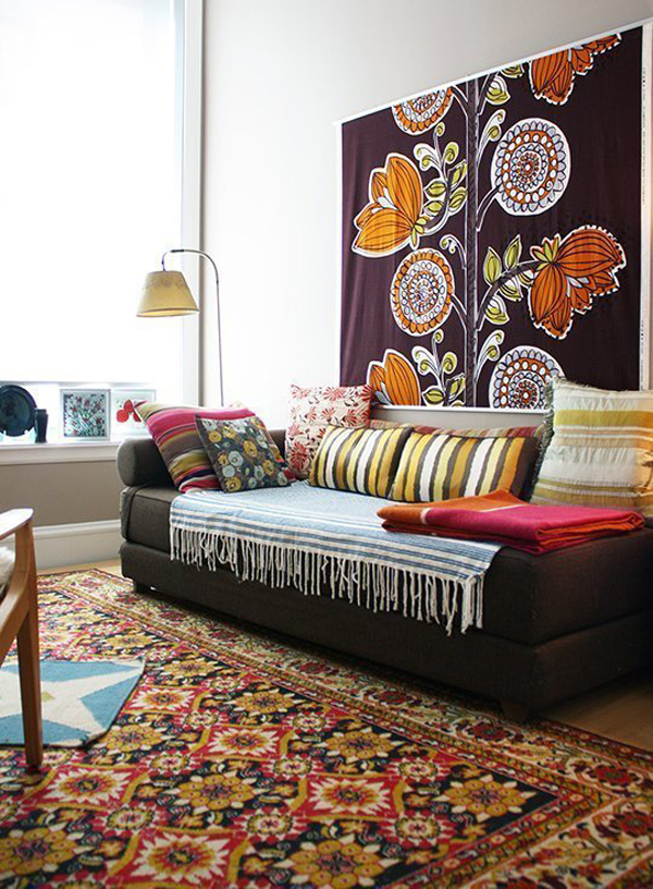 Colorful Rug Wall Hangings