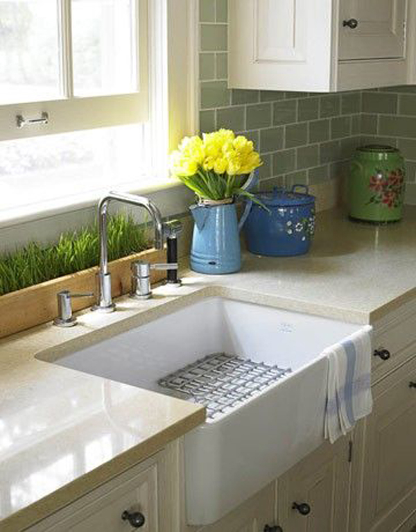 Country Style Kitchen Sink : Gallery of 35 Country Kitchen Design Ideas